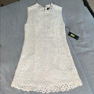 Dolce Vita white mini dress
